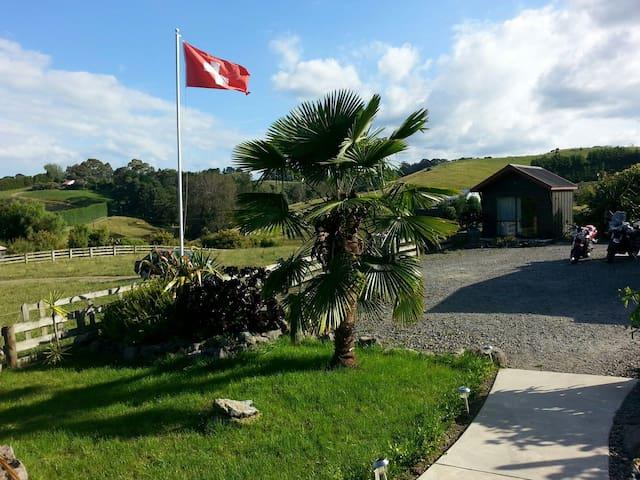 Charming Swiss-Kiwi Retreat - Tauranga - Bed & Breakfast