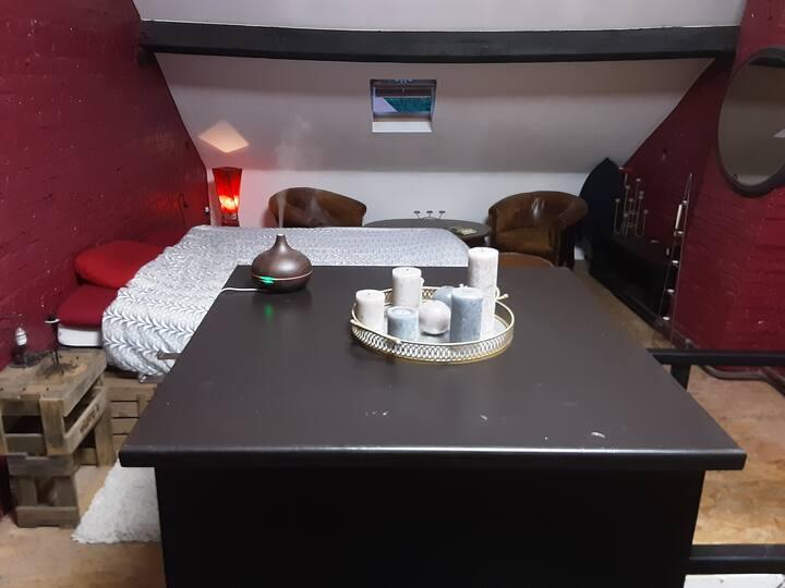 Kamer met badkamer, brusselse rand. Pajottenland.