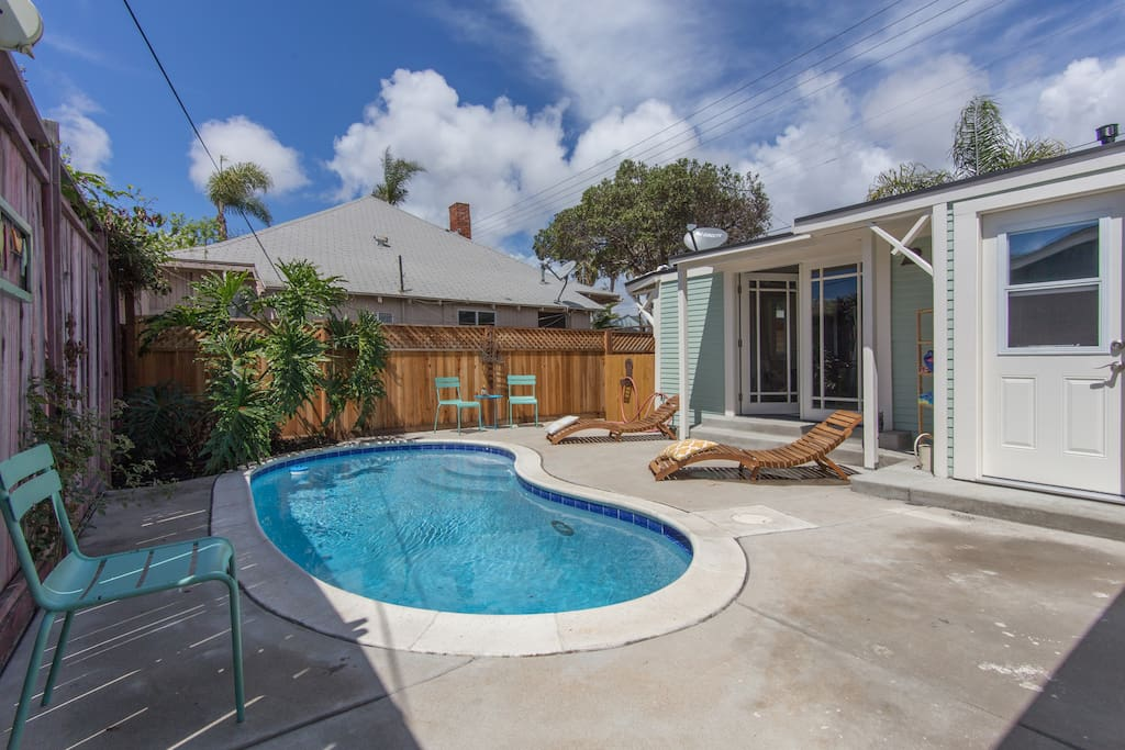 2br 2ba Home With Private Pool And Sauna Houses For Rent In San Diego California United States