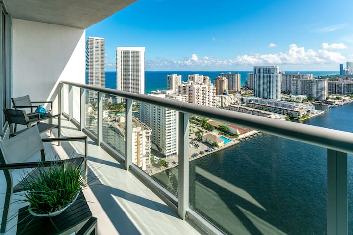 Picture your self standing at the balcony of your apartment and admiring this breathtaking view.