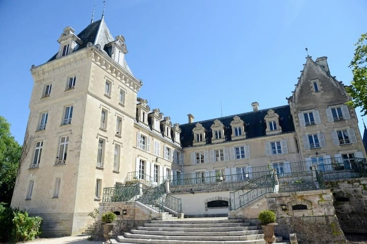 Entire Château for rent in the Loire Valley