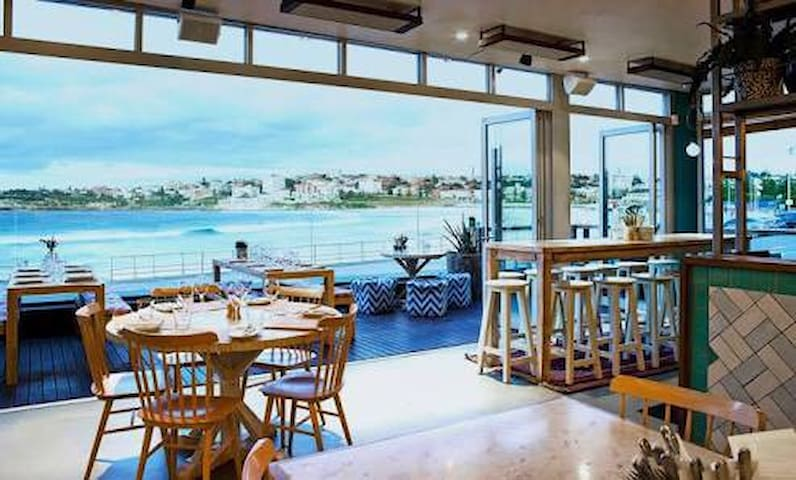 North Fish Bondi restaurant 1 minutes ! Make sure you make booking early for this special dining experience