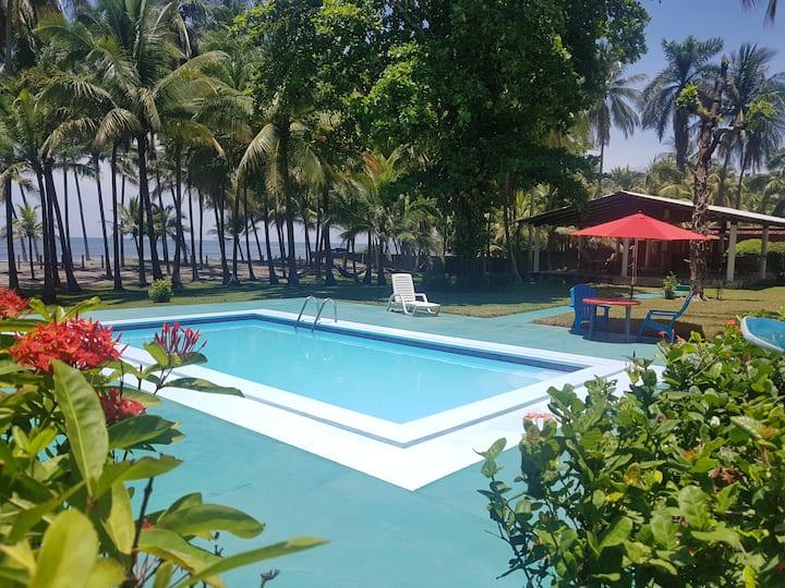 Tranquilidad y relax en playa privada Miravalle