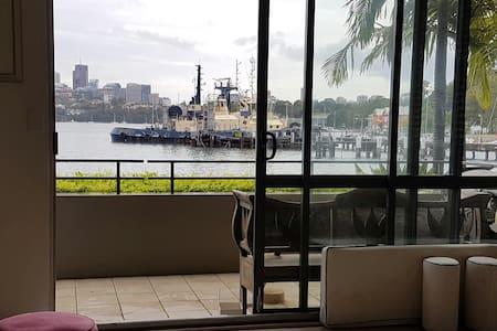 Superb apartment on the water at Balmain - Balmain - Apartemen
