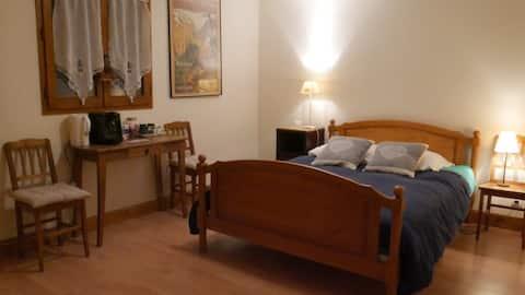 Chambre privée au pays du Mont-Blanc