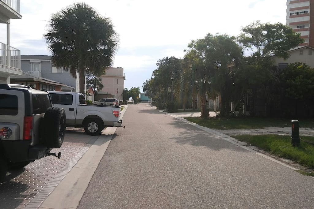 street view facing Gulf of Mexico