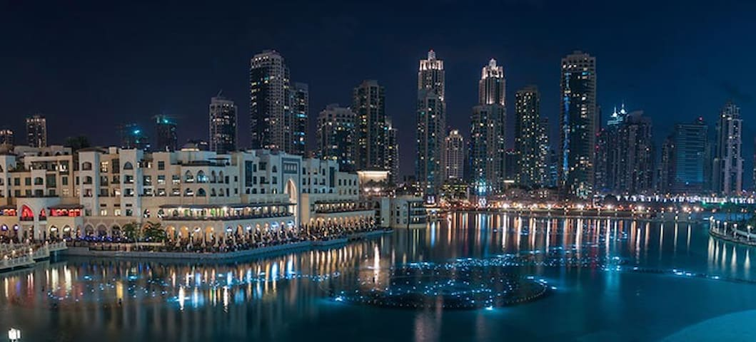 DOWNTOWN Best location 2 BDR Burj Khalifa view