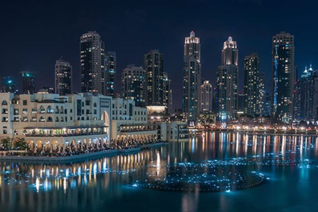 The Fontaines of Dubai mall