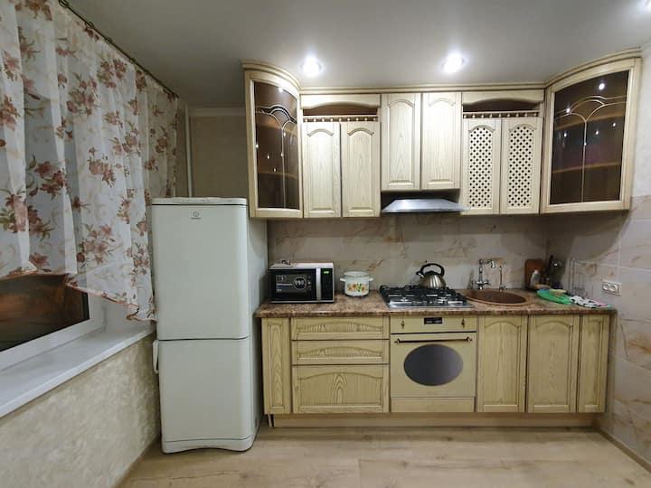 Просторная чистая квартира на длительный срок