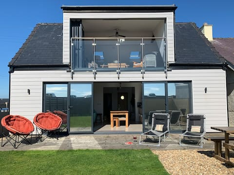 Stunning Beach House Dinas Dinlle/North Wales