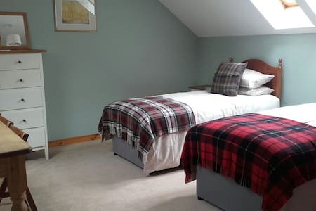 Friendly, Airy, Twin Room, Private - Tomich