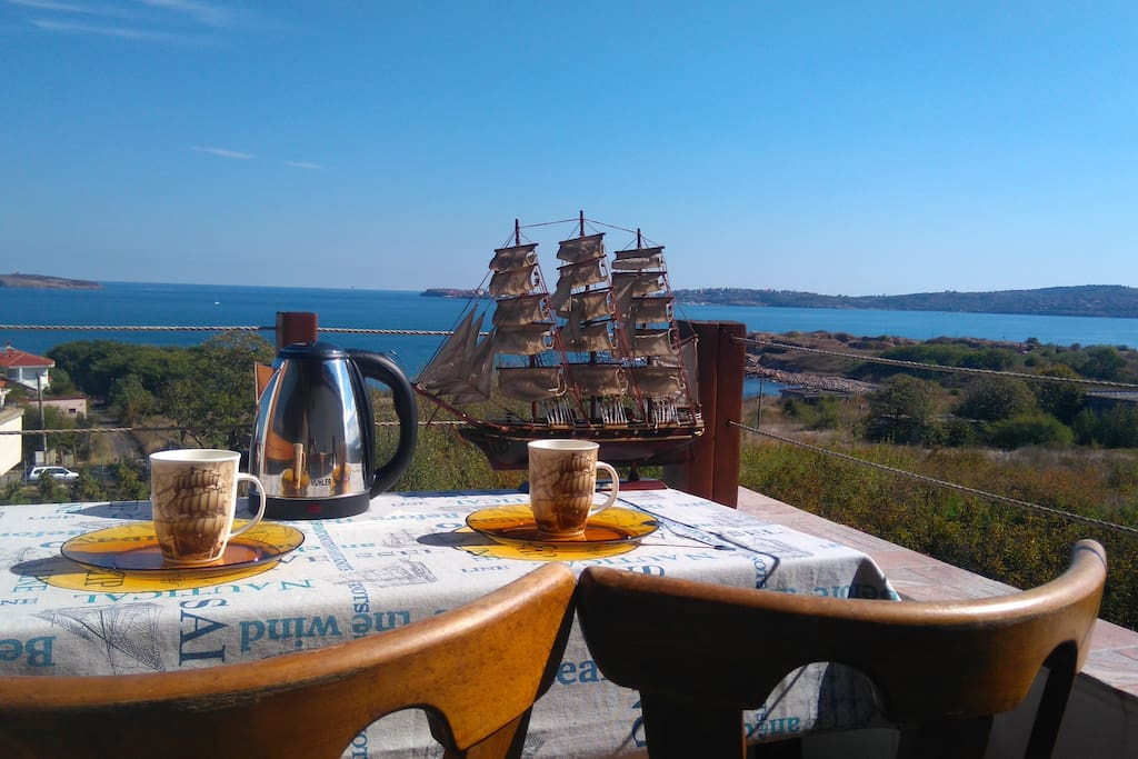 Coffee time view