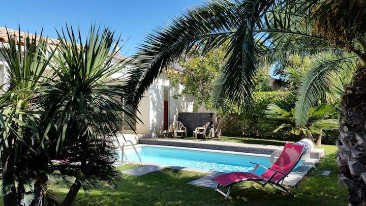 Maison avec piscine proche de la mer à Lattes