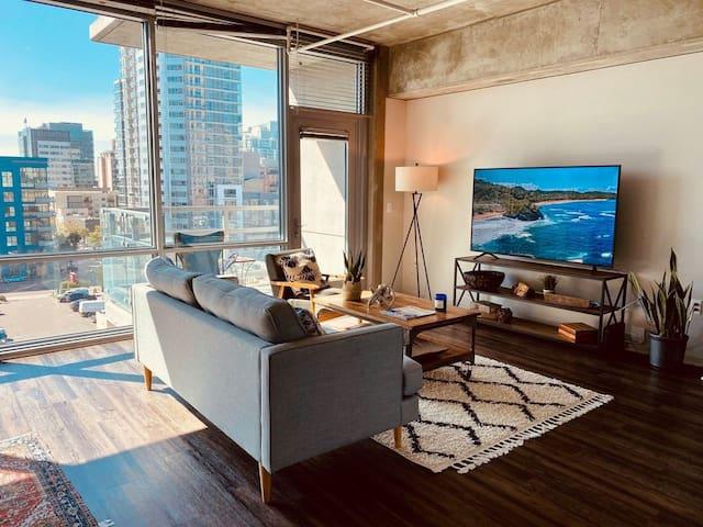 The Urban Retreat Private Bedroom!
