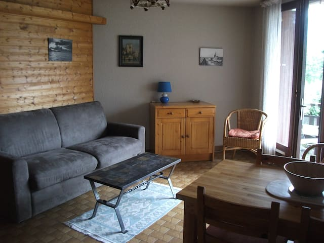 Studio cosy avec vue