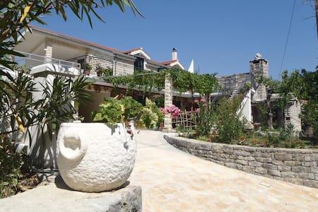 Dalmatian stone apartment near Omiš