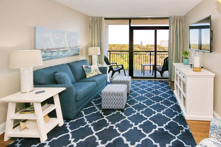 Ocean View One Bdrm Condo at Grande Shores Resort