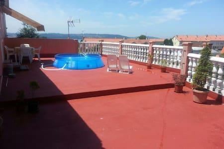 Piso cercano a la playa de Perbes - Miño - Apartment