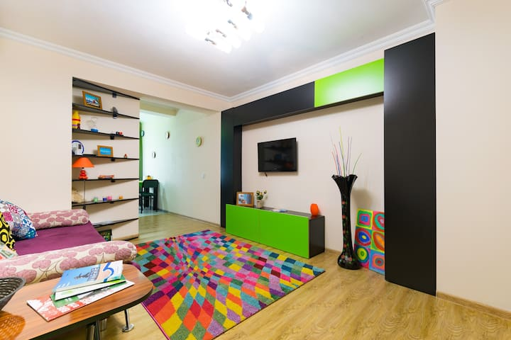 Уютная квартирка для двоих (Green) - Batumi