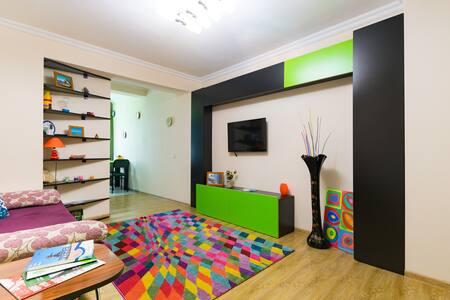 Уютная квартирка для двоих (Green) - Batumi - Appartement
