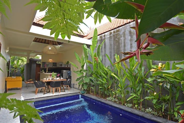 Cute 2 BR Private Pool Villa in Seminyak