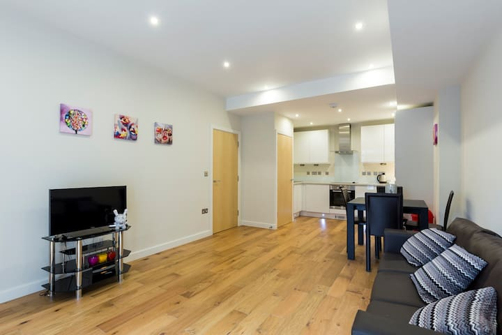Modern and Spacious Central London Apartment (CSA) - Londyn - Apartament