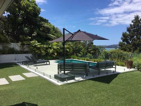 Luxe zelfstandig appartement Uitzicht op zee Paihia