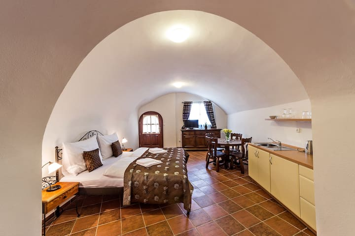 Double apartment with terrace - Český Krumlov - Daire