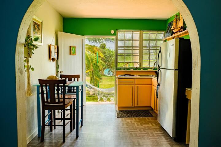 Garza Beachfront work-from-home alternative place