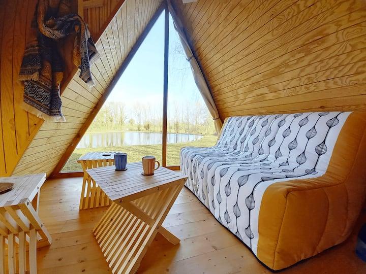 Cabane dans la nature 2/4 pers - 10 min Bressuire