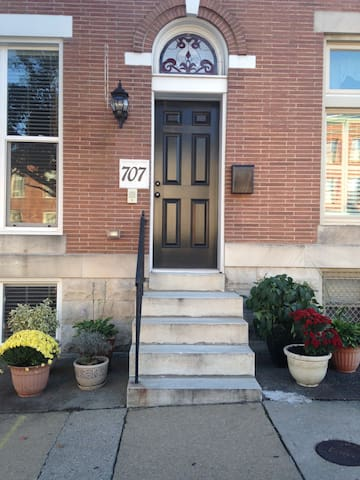 Beautiful row house in Federal Hill - Baltimore - House