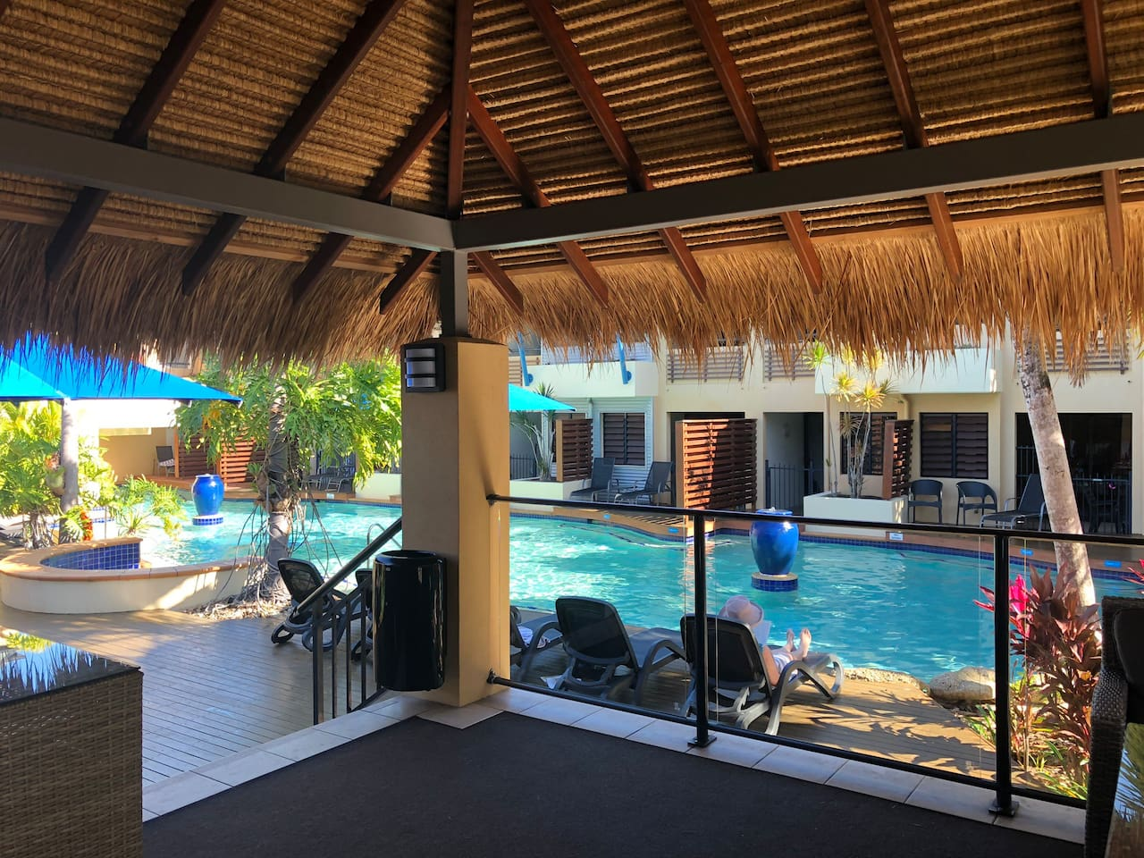 Heritage Cabana and Pool for your use