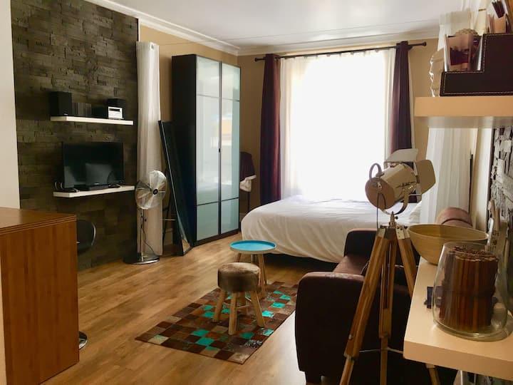 Evian centre historique  Rue piétonne « le cosy»