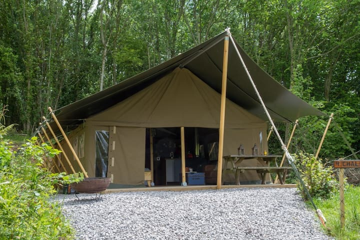 Safari Tent on Swanage Dairy Farm - Corfe Castle - Tent