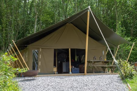 Safari Tent on Swanage Dairy Farm - Corfe Castle
