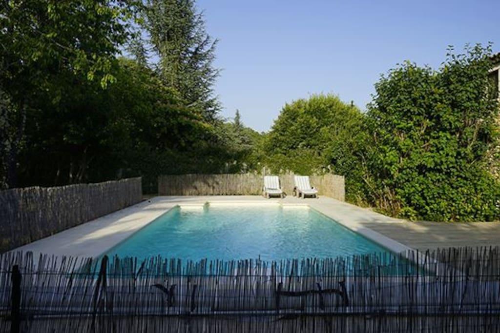Maison de charme proche d 39 uzes huizen te huur in goudargues languedoc - Maison de charme perche ...