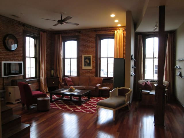 High End 2nd Fl Loft  in Downtown Belleville