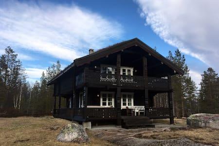 Høystandard tømmerhus, Øvre Birtedalen