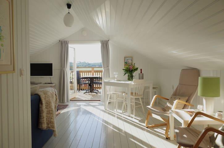 Charmig & trivsam lägenhet i Asige - Slöinge Falkenberg - Haus