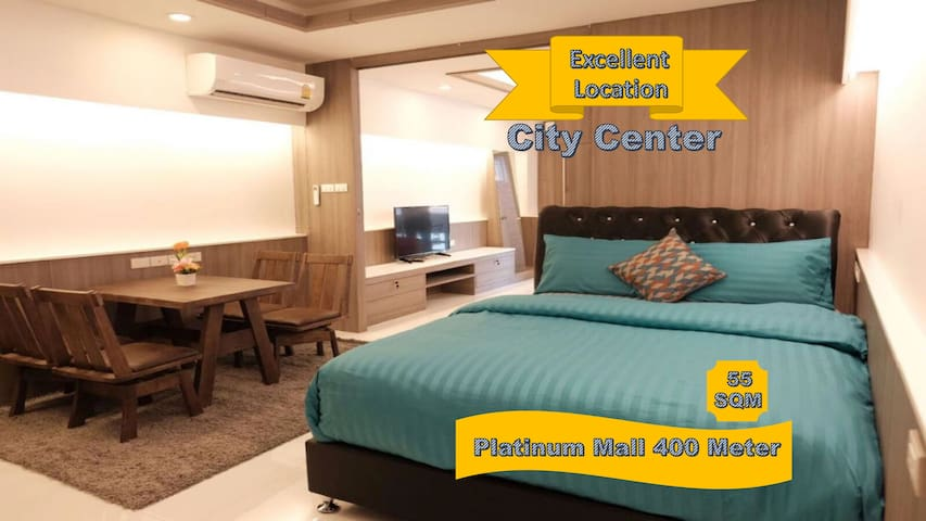 Family Room Condo1 NR Shopping@Platinum + FreeWifi