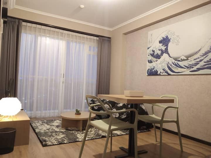 Super COMFY 2 BR Japanese Style Apartment @Pasteur
