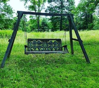 Primitive campsite, horses welcome! Site One