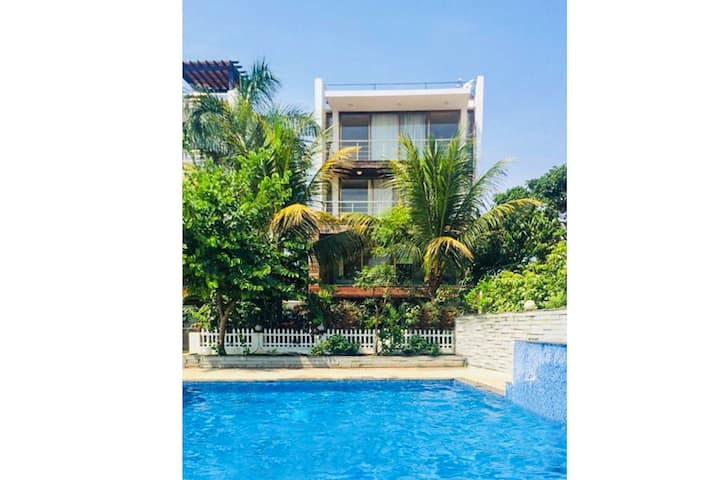 Riverview Revere 4BR Luxury Villa W/Pool @Goa