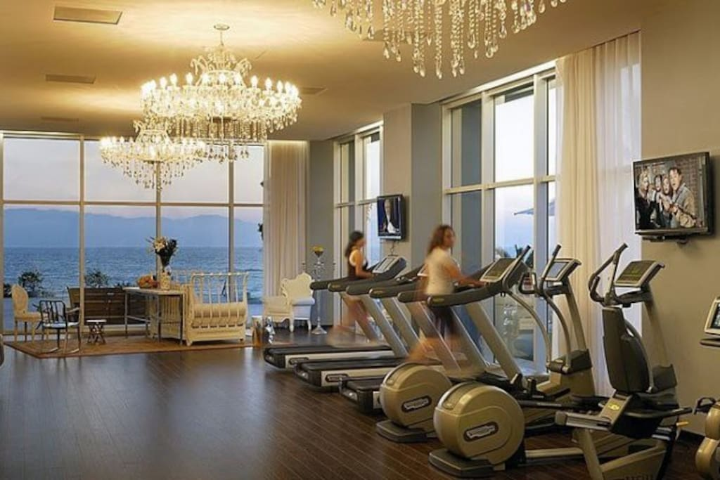 Amenities in the property (GYM)