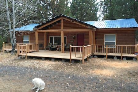 Log Cabin at Lazycamp - La Pine - Maison