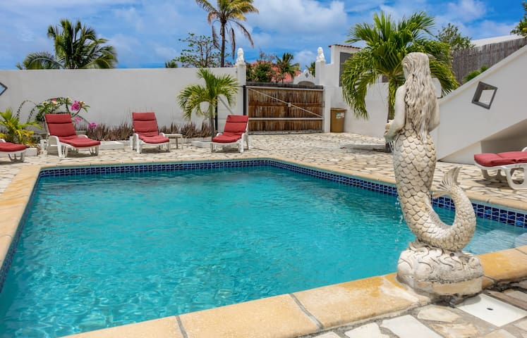Village house in the heart of Orient Bay ideal for family holidays in SXM