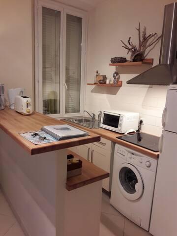 Appartement de deux pièces au centre de CANNES - Cannes - Departamento
