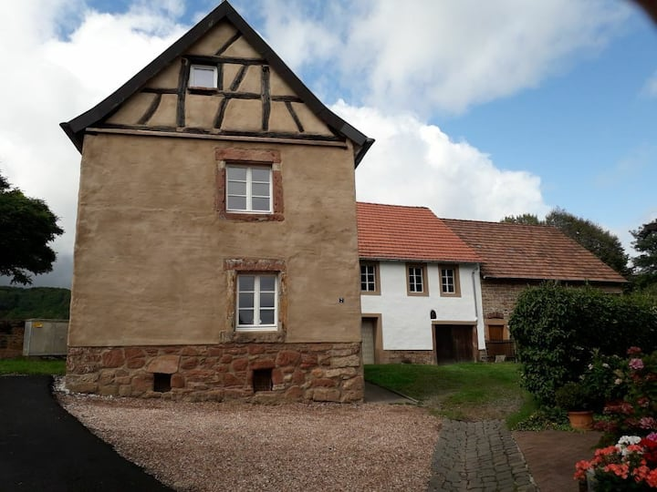 Historisches Ferienhaus, klein und fein.
