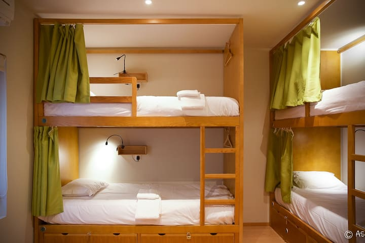 Peach Hostel & Suites - Cama no Green Dorm