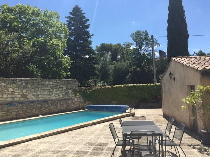 Appartement avec piscine privée pour 6 pers